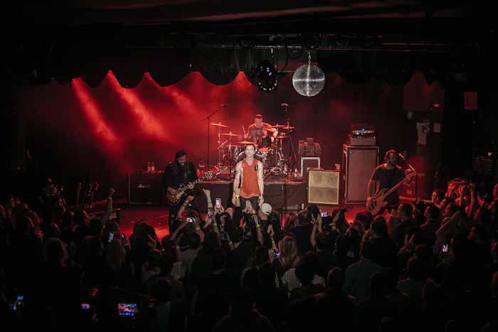 Bush and Live preform at the Roxy in LA.  All photos (Photo credit: Maria Jose Govea for Live Nation.)